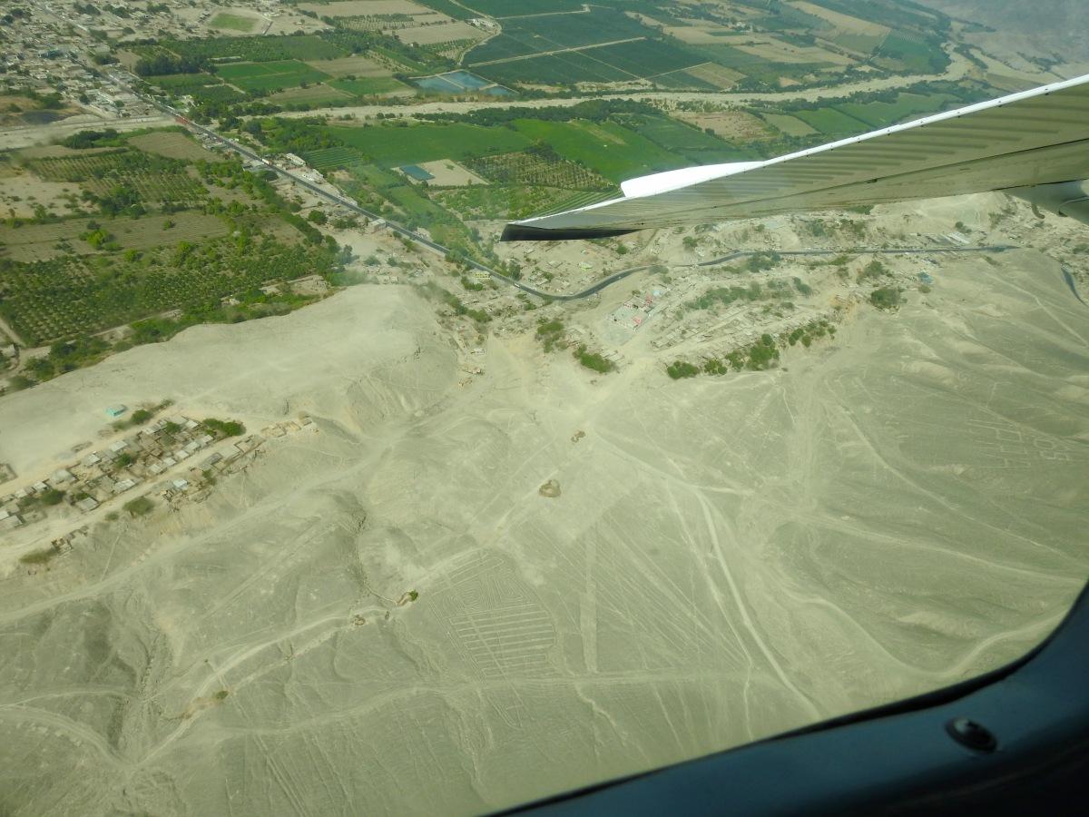 Mystery lines - Nazca, Peru