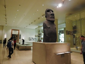The Easter Island Moai, which they exchanged for cloth