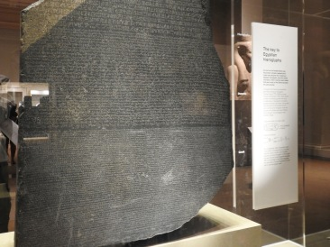 The renowned Rosetta Stone