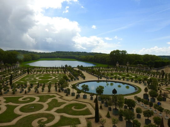 Garden in the Chateau of Versailles