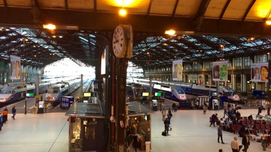 Gare du Lyon train station